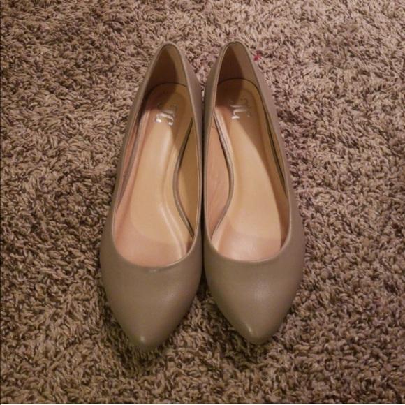4e8f367052ac JG Shoes - JG Pointed Toe Wedge Flats